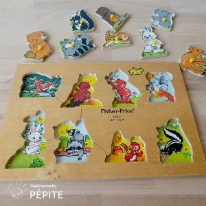 jouet-vintage-bois-durable-puzzle-bebes-animaux