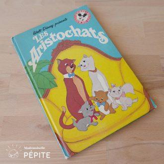 livre-vintage-disney-les-aristochats