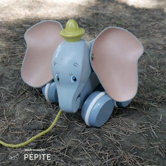 jouet-vintage-bois-durable-dumbo-a-tirer