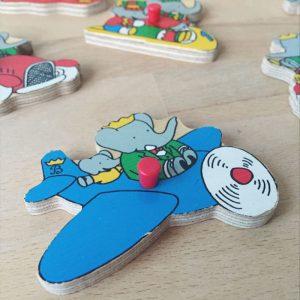 jouet-vintage-bois-durable-puzzle-babar