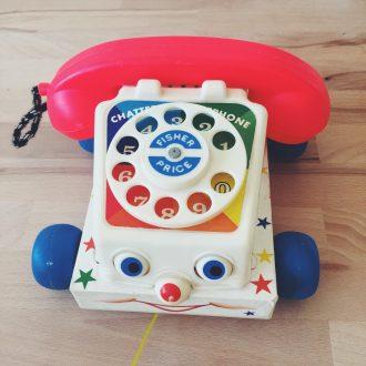 jouet-vintage-fischer-price-telephone