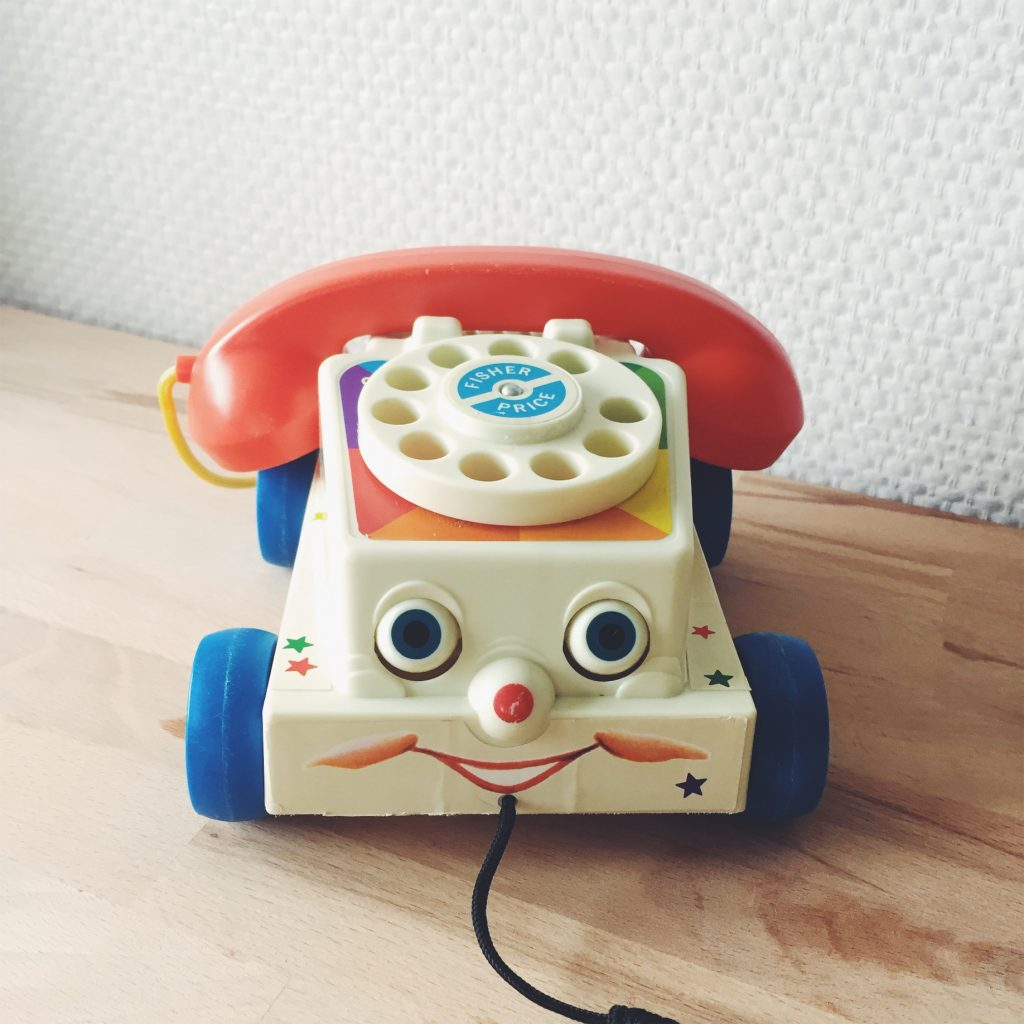telephone fisher price vintage