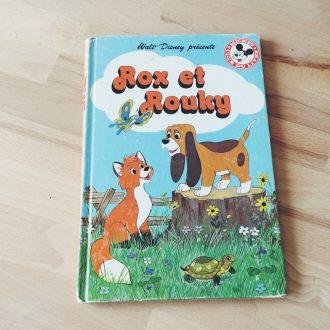 livre-vintage-rox-et-rouky