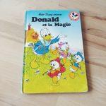 livre-vintage-donald-et-la-magie