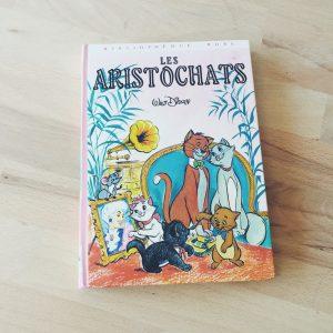 livre-vintage-aristochats-disney