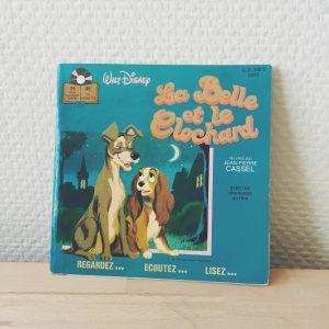 La Belle et le Clochard Vinyle