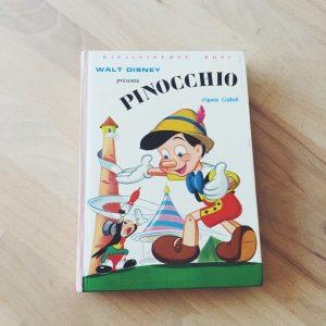 livre-vintage-disney-pinocchio