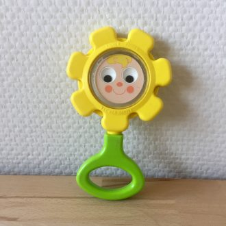 Fisher Price vintage hochet fleur flower rattle
