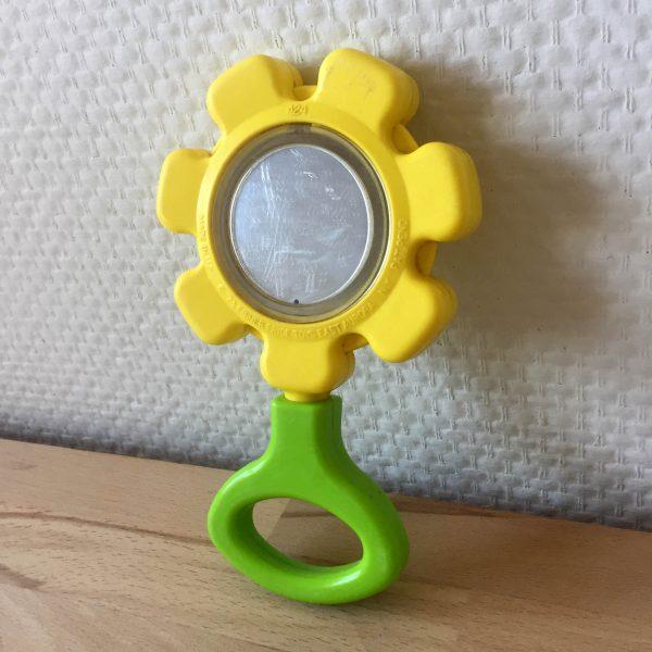 Fisher Price vintage hochet fleur flower rattle