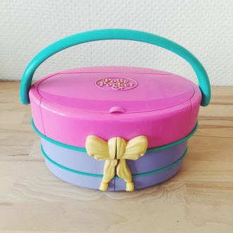 polly pocket vintage vanity fashion bluebird