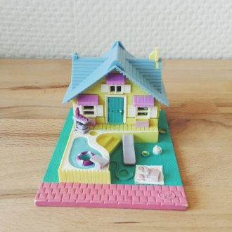 polly pocket vintage maison bluebird