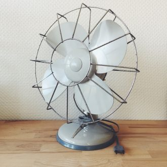 ventilateur vintage elge retro decoration