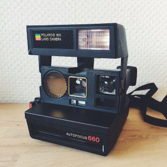 polaroid autofocus 660 vintage appareil photo instantanné