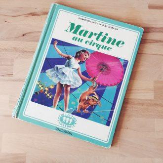 Martine au cirque livre vintage enfant