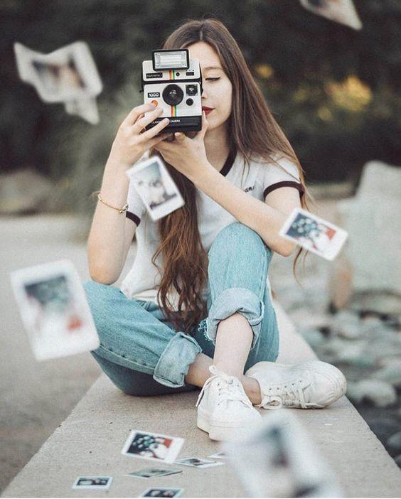 supercolor polaroid vintage