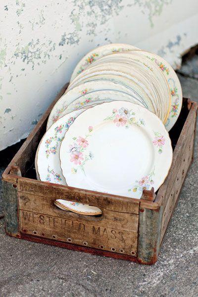 vaisselle vintage ancienne annecy