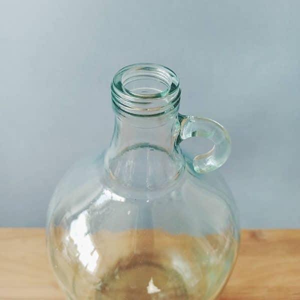 bonbonne vintage verre