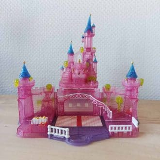 chateau cendrillon disney bluebird polly pocket vintage