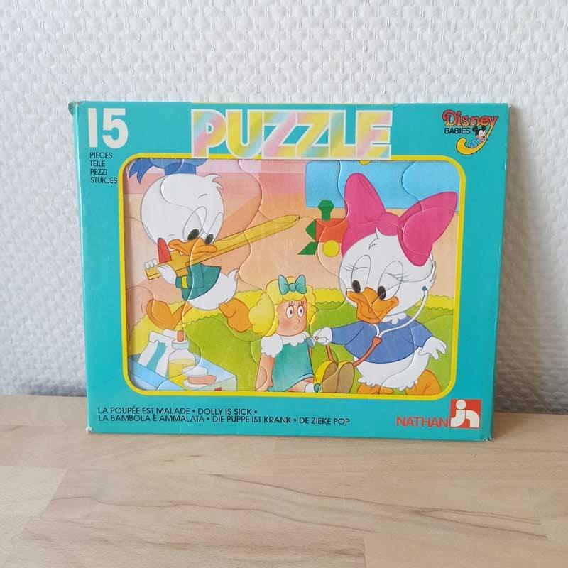 puzzle disney vintage babies