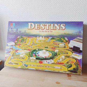 destins jeu de la vie vintage jeu de société retro
