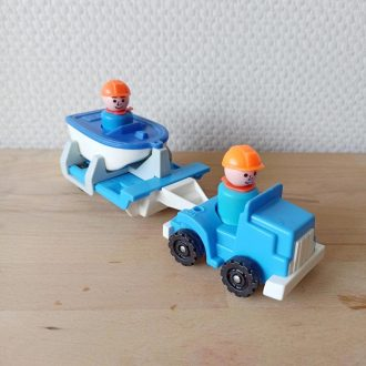 fisher price voiture little people vintage