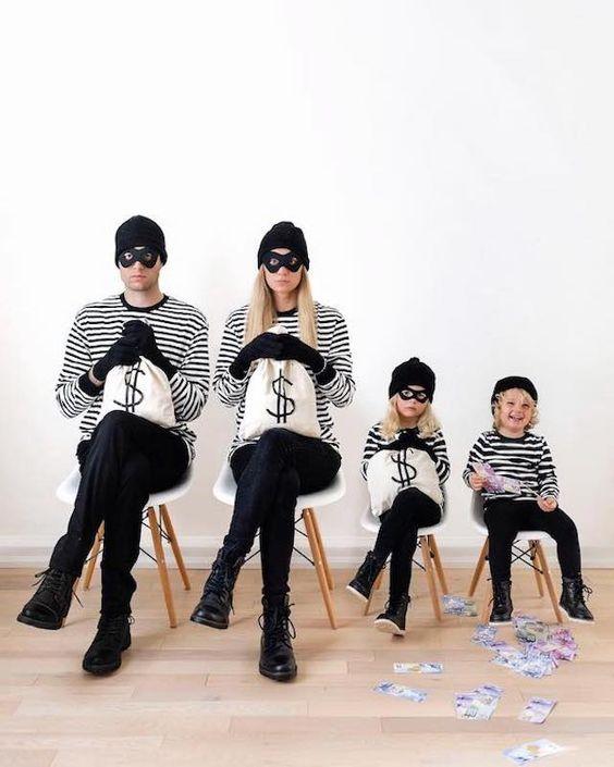 déguisement enfant halloween famille costumes