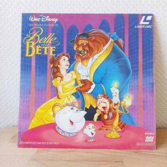 laser disc la belle et la bête disney vintage