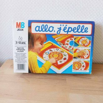 allo j'épelle vintage MB jeux