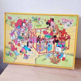 puzzle disney babies vintage